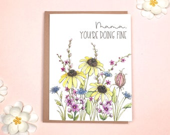 Encouragement - Mom Card