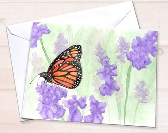 Monarch Notecard