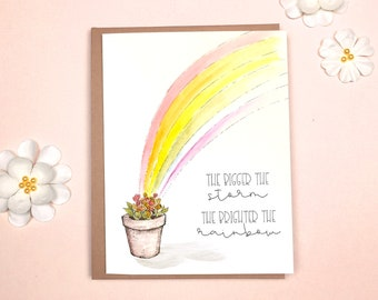 Encouragement - Rainbow Card