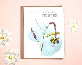 Encouragement - Bumblebee Card