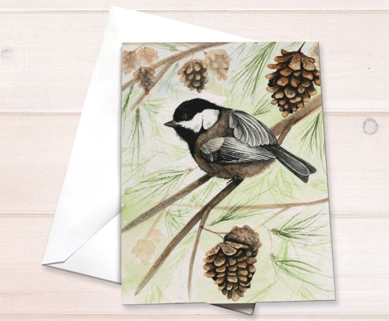 Wholesale  Chickadee Notecard image 0