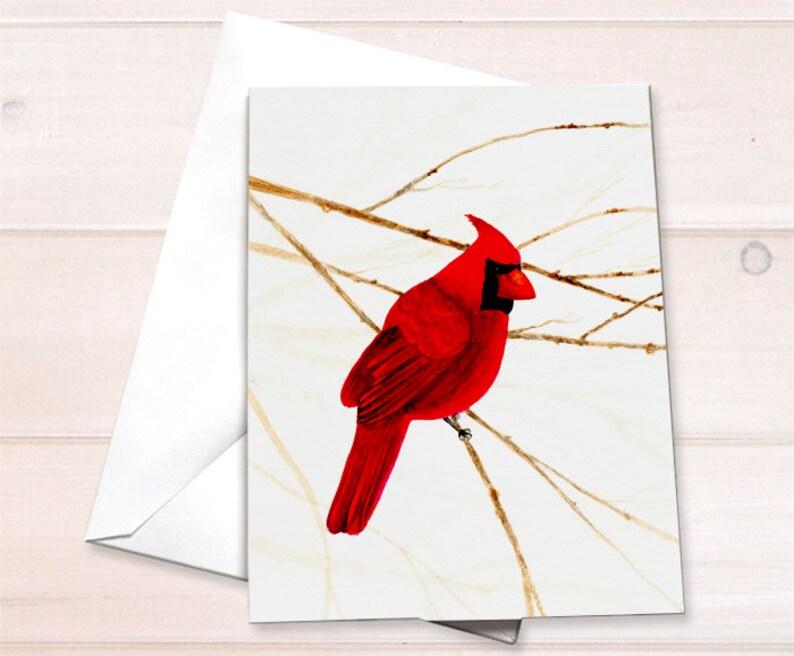 Wholesale  Cardinal Notecard image 0