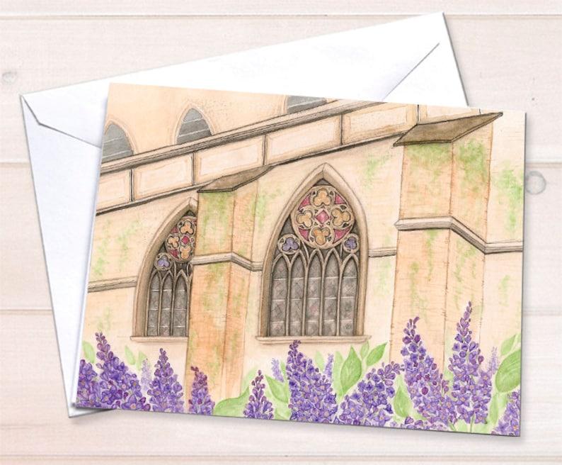 Wholesale  Chapel Notecard image 0