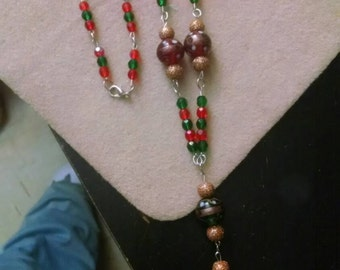 Red,green,gold Christmas set