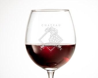 Personalized Wine Glasses | Wedding Gift For Her | Bridesmaid Gift | Monogram Wine Glass | Custom Wine Glass | Engraved Wine Glass