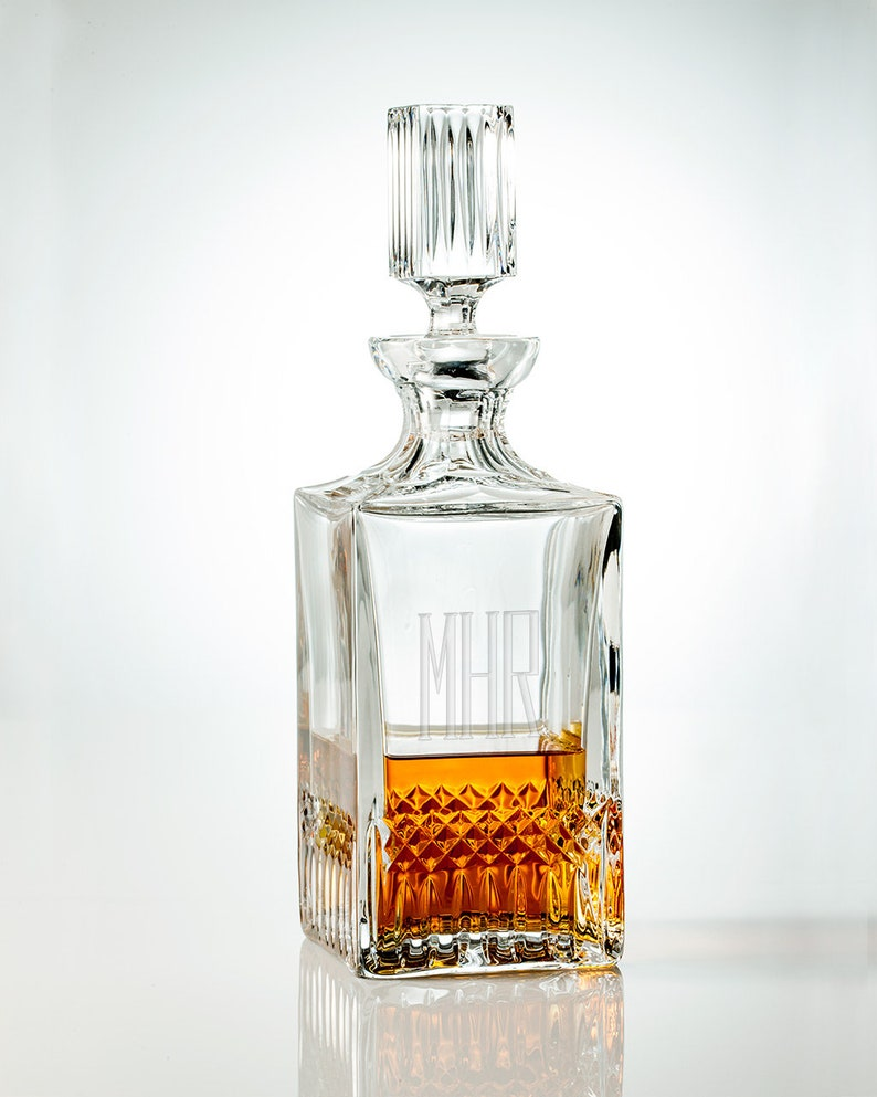 Decanter With Tags | Personalized