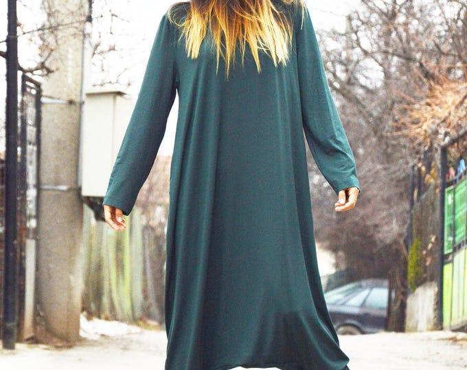 Green Women Cotton Jumpsuit, Military Jumpsuit, Low Bottom Pants, Overalls Romper, Maxi Jumpsuit by SSDfashion