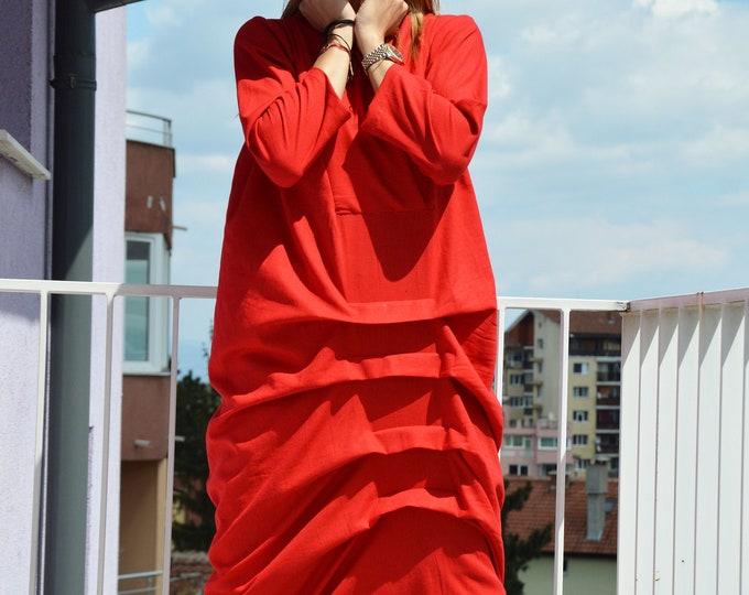 Linen Dress with long sleeves, Women Maxi Dress, Elegant handmade Dress, Summer Dress by SSDfashion