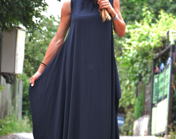 Plus Size Maxi Dress, Extravagant Long Dress, Women Sexy Dress, Elegant Dress, Open Back Dress, Loose Dress by SSDfashion