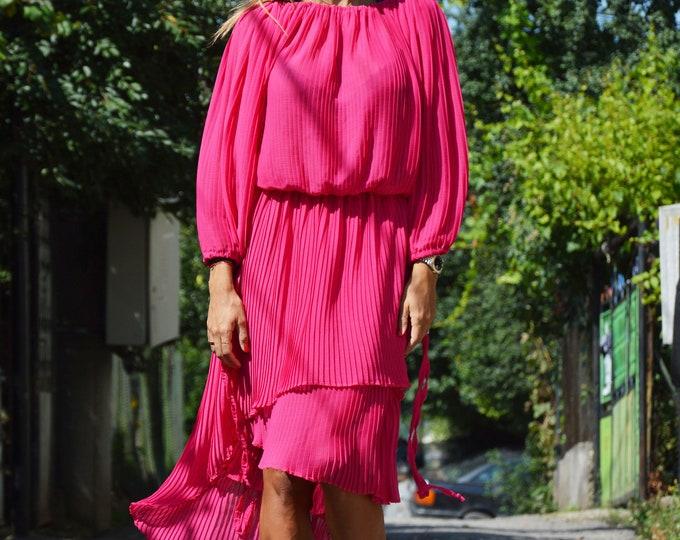 Women's Purple Solei Dress, Plus Size Dress, Maxi Two parts Dress, Summer Dress, Knee length Tunic Skirt, Party Dresses by SSDfashion