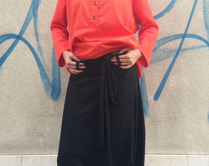 Black Harem Pants for Women, Maxi Low Crotch Trousers, Ladies Pants, Plus Size Pants, Urban Casual Pant, Maxi Pants by SSDfashion