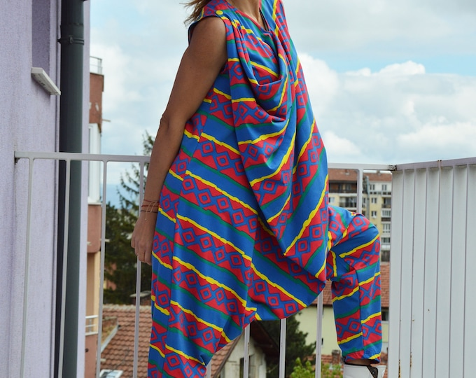 Cotton Jumpsuit, Summer jumpsuit, Maxi Extravagant Jumpsuit, Overalls Jumpsuit, Plus Size Jumpsuit, Long Zipper Overall, Maxi Jumpsuit