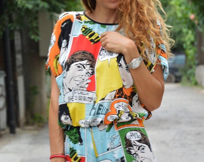 Women Summer Jumpsuit, Union Suit, Fashion Jumpsuit, Drop Crotch Jumpsuit, Casual jumpsuit, Maxi Overall by SSDfashion