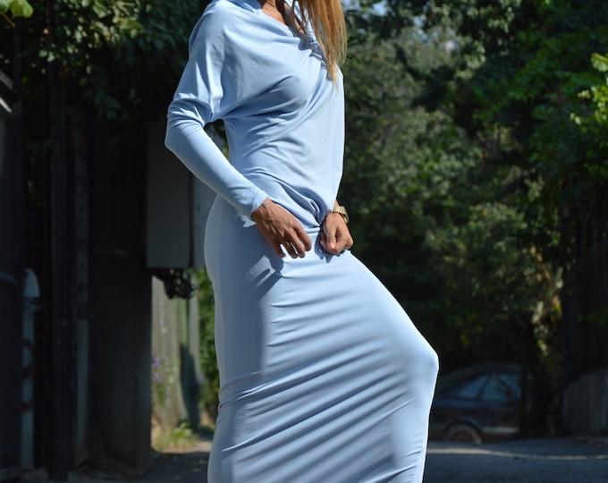 Cotton Dress, Woman Maxi Summer Dress, Asymmetrical Casual Tunic Dress,One Sleeve Dress,Long Short Tunic Dress,Plus Size Dress by SSDfashion