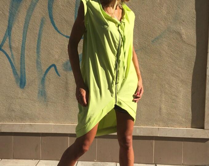 Asymmetric Handmade Tunic Top, Extravagant Maxi Cotton Blouse, Oversize Women's Tunic, Loose Tunic by SSDfashion