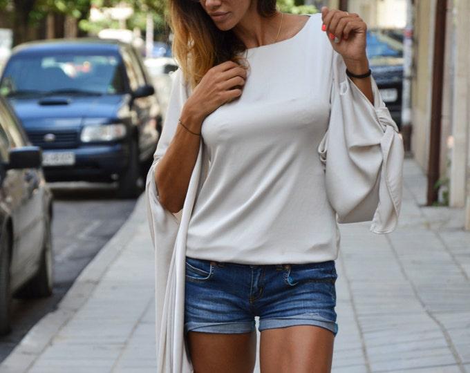 Elegant Office Shirt, Women Dresses, Casual Shirt, Maxi Satin Tunic, Open Back Top, Plus Size Shirt, Summer Oversize Shirt by SSDfashion