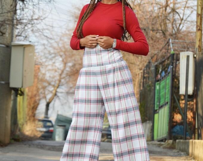 Plus Size Sexy Jumpsuit with Zipper, Wide Leg Jumpsuit, Fashion Summer Jumpsuit, Maxi Drop Crotch, Plus Size Jumpsuit by SSDfashion