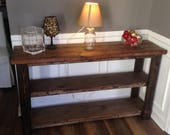 Rustic Console Table...