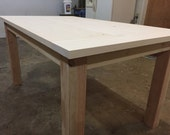 DIY Farm Table - Up To 9&...