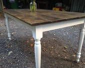 Dark Walnut Modern Farm T...