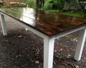 Modern Dark Walnut Farm T...