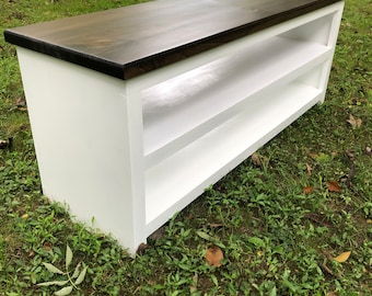 Custom Entryway Bench - Local Delivery Only