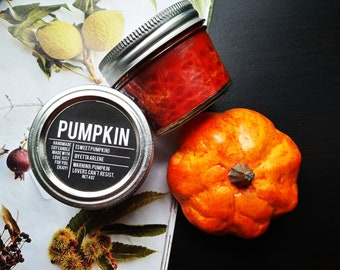 Pumpkin Candle 4oz ,The Best Pumpkin Scented Candles,  Fall Candles, Fall Decor, Handcrafted Small Batch Candles by Etta Arlene