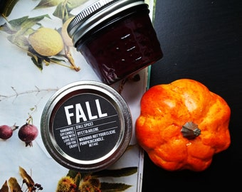 Fall Candle - Fall Scented Candles - Hand Poured Candle - Fall Gift - By Etta Arlene Candles