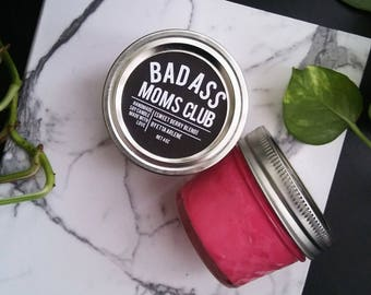 Badass Moms Club Candle - Cool Mom Scented Candle -Gift for Mom - by Etta Arlene