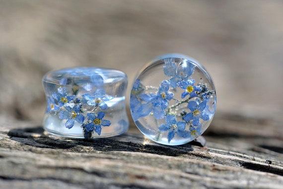multiple colors Resin ear plugs 14mm