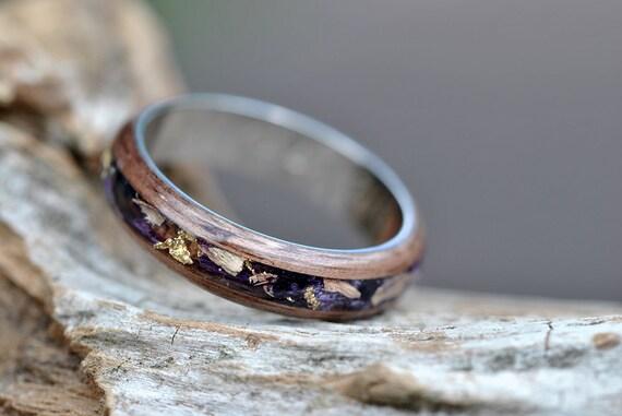 Titanium Wedding Band Men Womens Titanium Wedding Rings With Etsy
