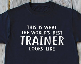 900a541f9 Trainer Gift, Coach Shirt, Trainer Shirt, Gym Trainer Shirt, Christmas Gift,  Personal Trainer Shirt , Thanksgiving Gift, Birthday Gift