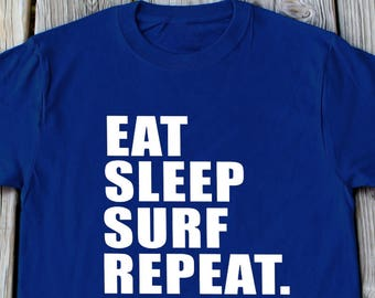 Eat sleep surf | Etsy