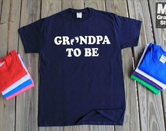New Grandpa Shirt Grandfather Gift Thanksgiving Gift For Grandpa Gift For Pop Pop New Grandpa Shirt Baby Surprise Shirt Baby Grandpa Shirt