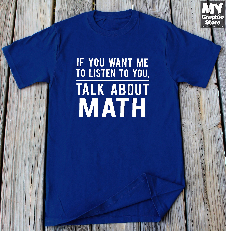 Math Shirt lustige Mathe T Shirt Mathematik Shirt Geschenke | Etsy
