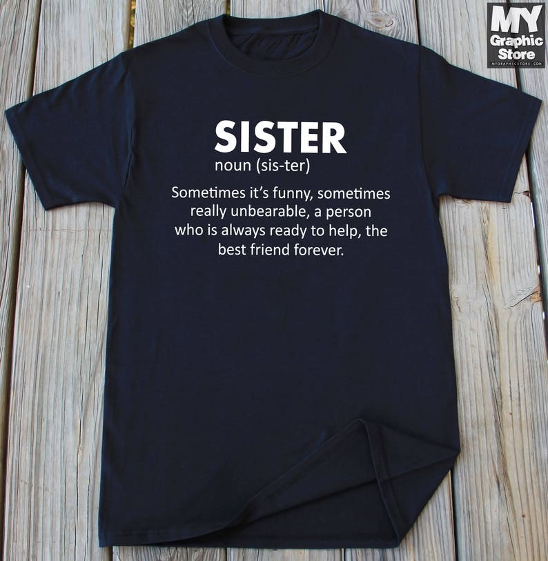 Sister Shirt Cousin Christmas Gifts Birthday Gift