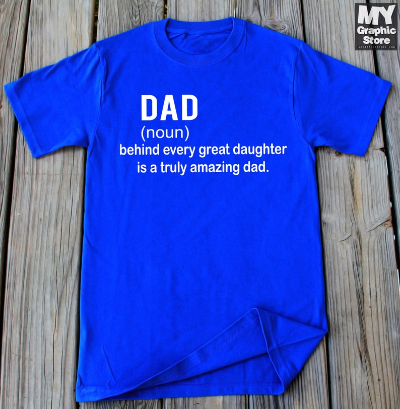 d1c81c3c Dad T-Shirt Father Daughter Shirt Gift For Dad Dad Daughter | Etsy
