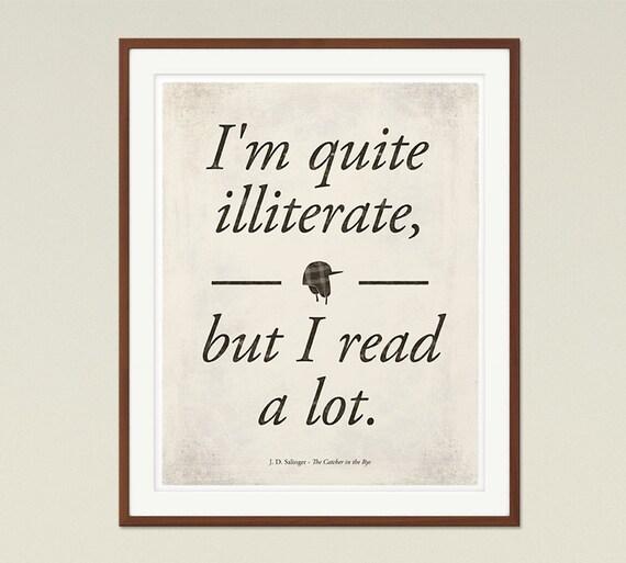salinger s the catcher in the rye medium literary quote