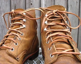 Leather Laces for Red Wing Iron Rangers 8113.
