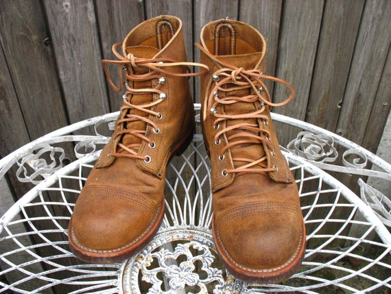 Leather Laces For Red Wing Iron Rangers 8113 Etsy