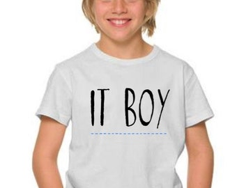 Boy t-shirt or body IT BOY