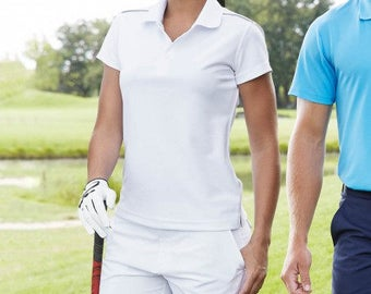 Golf shorts for women De Tee En Tee logo in different colors.