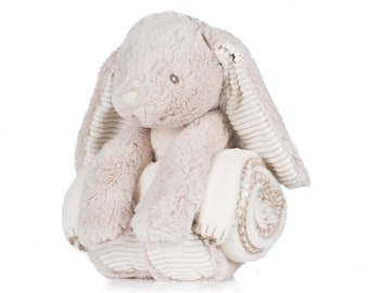 Rabbit and blanket set