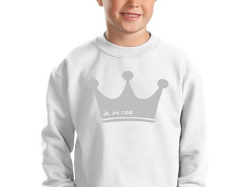 Boy sweater CROWN KING PRINCE