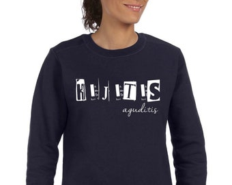 Round neck women sweater HIJITIS AGUDITIS