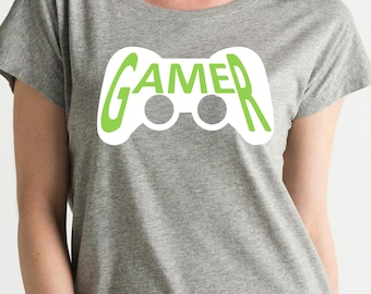Women tee (lose) GAMER