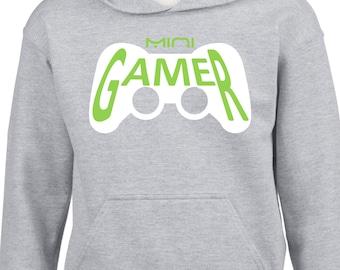 Boy Girl hoodie GAMER or MINI GAMER