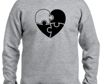 Men sweater INCOMPLETE PUZZLE HEART