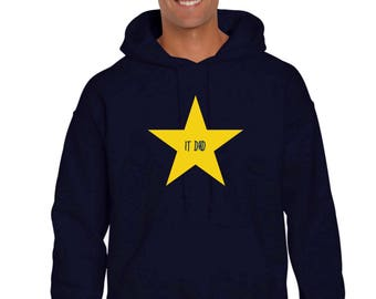 Men hoodie IT DAD in a STAR