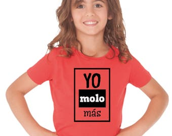 Girl t-shirt/body YO MOLO MAS